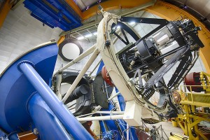 DECam on the Blanco Telescope. DECam gained first light in 2012, and started the Dark Energy Survey in Sept 2013 including a new search for distant supernovae. DES will continue for 5 years.