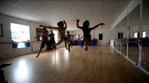 A still from Claire's lifecycle of stars dance workshop.