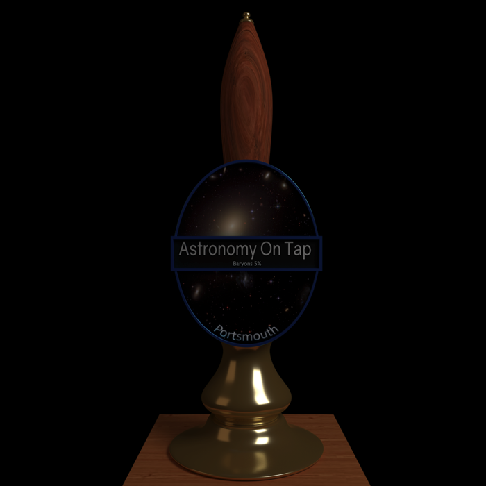 Astronomy on Tap Portsmouth logo.